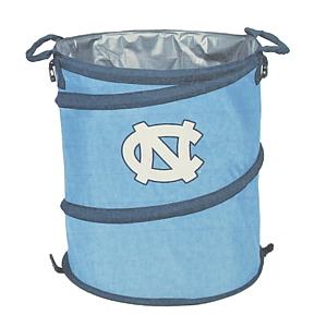 Johnny T Shirt North Carolina Tar Heels Collapsible Trash Can Cooler Hamper By Logo Inc