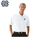 Par 3 Soft-Blend Double-Tuck Polo (White)