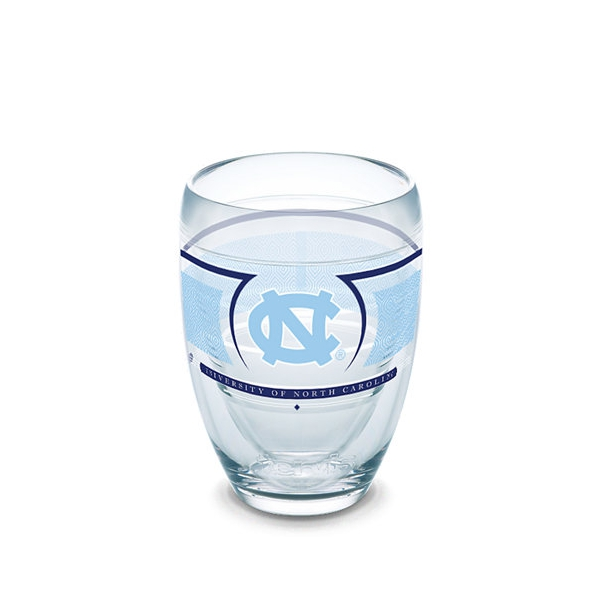 Johnny t shirt north carolina tar heels 9 oz insulated stemless wine glass by tervis tumbler - Insulated stemless wine glasses ...