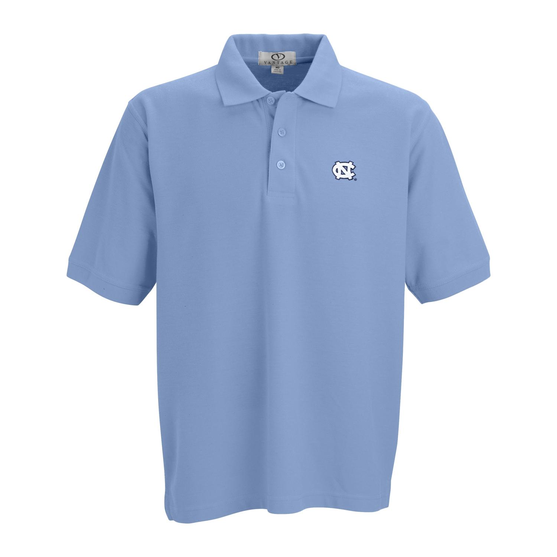 Johnny t shirt north carolina tar heels par 3 soft for No tuck golf shirts