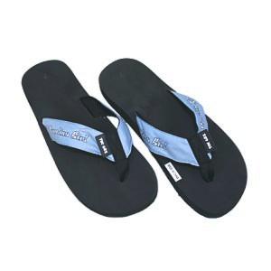 618b08284 Johnny T-shirt - North Carolina Tar Heels - Ladies  Carolina Girl Flip Flops  (Black CB) by Toegoz