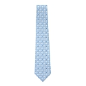 Carolina Blue Multi Logo Tie