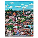 Chapel Hill 1000 Piece Puzzle by Susan Wells Vaughan