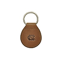 Leather Keyfob Key Chain (Brown)