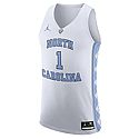 Nike #1 Authentic Basketball Jersey (White)