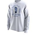 Youth L/S Play Hard, Play Smart, Play Together Bench Legend T (White)