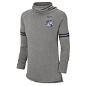 Nike Ladies' L/S Funnel Pullover (Grey)