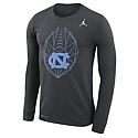 Nike L/S Football Icon T (Charcoal Grey Heather)