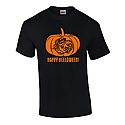 Happy Heeloween Pumpkin T (Black)