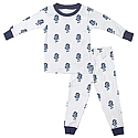 Youth Strutting Ram Organic Cotton 2-Piece PJ Set (White)