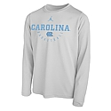 Youth L/S Basketball Practice Legend T (White)