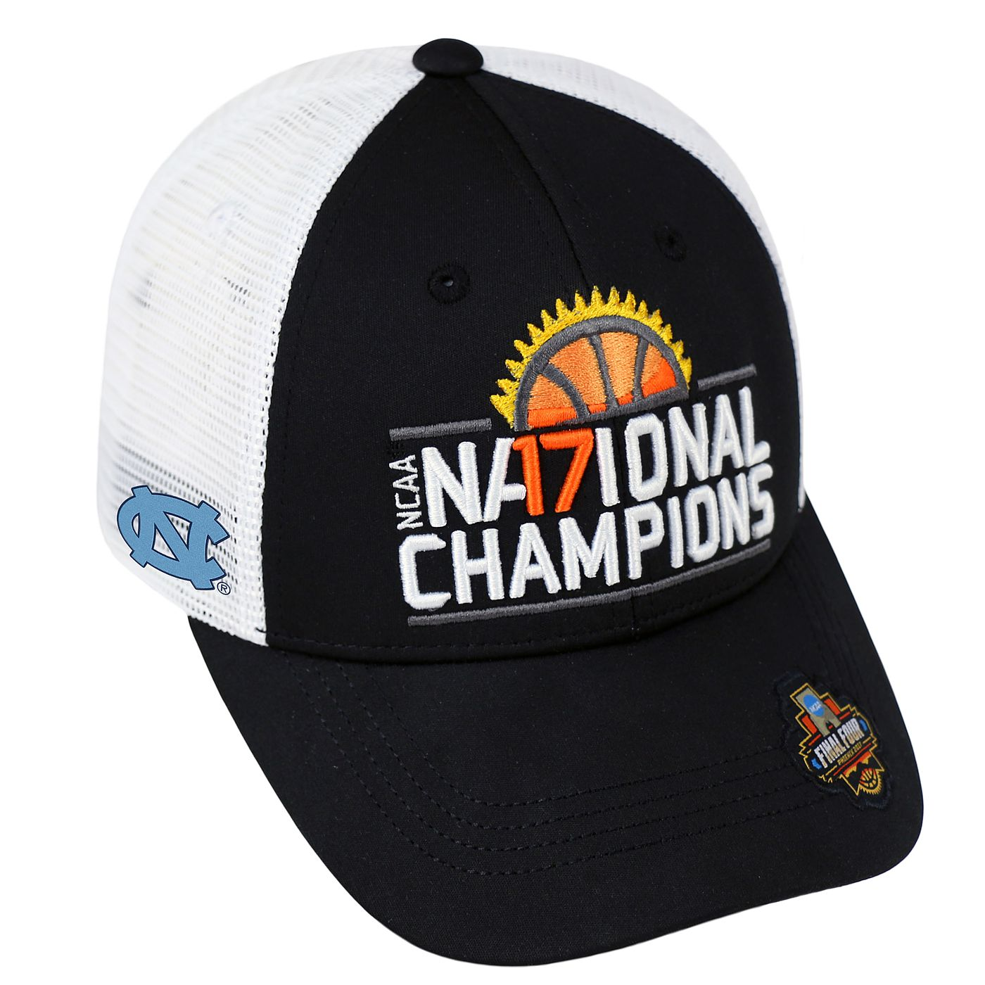 b05a2bb6873 Johnny T-shirt - North Carolina Tar Heels - 2017 National Champs Ranger Hat  (Black White) by Top of the World