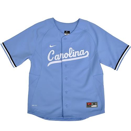 92a0099093d Johnny T-shirt - North Carolina Tar Heels - Baseball - Youth Nike Replica Baseball  Jersey (CB) by Nike