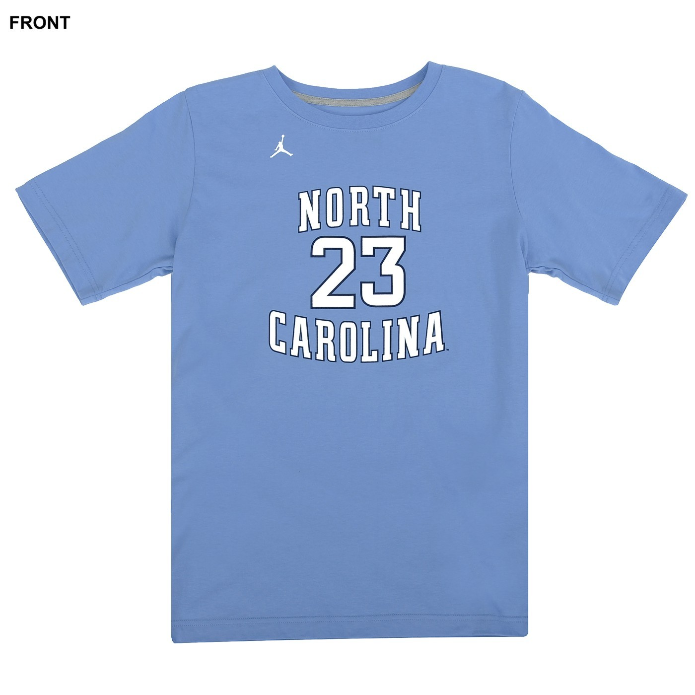 c8055705a4b Johnny T-shirt - North Carolina Tar Heels - Nike Jordan #23 Replica  Basketball Jersey T (CB) by Nike
