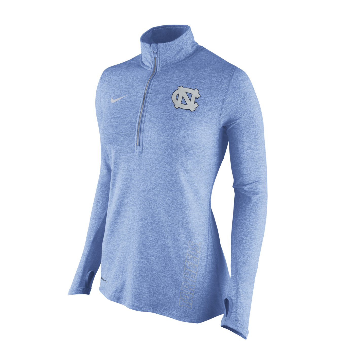 46a20329d923 Johnny T-shirt - North Carolina Tar Heels - SALE ITEMS - Nike Ladies   Stadium Element 1 2-Zip Pullover (CB Heather) by Nike