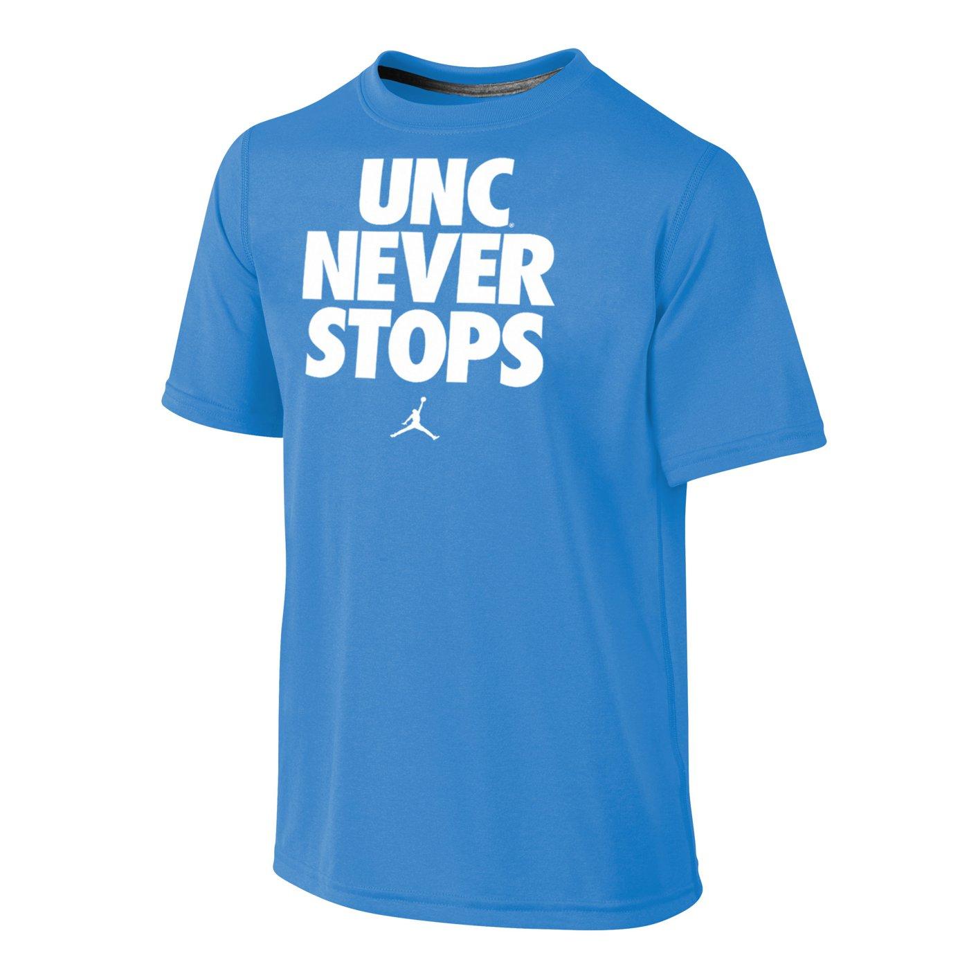tee shirt nike basketball never stops