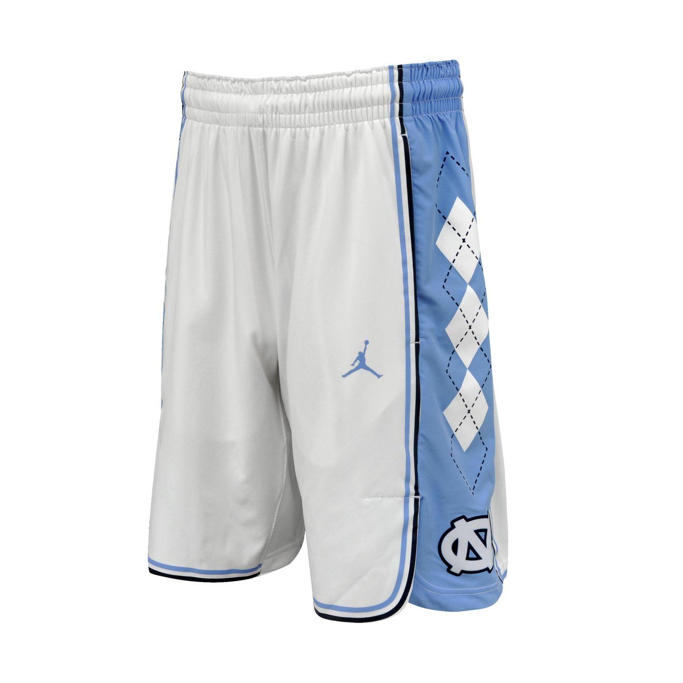 7445539576828b Johnny T-shirt - North Carolina Tar Heels - Nike Authentic Basketball Shorts  (White) by Nike