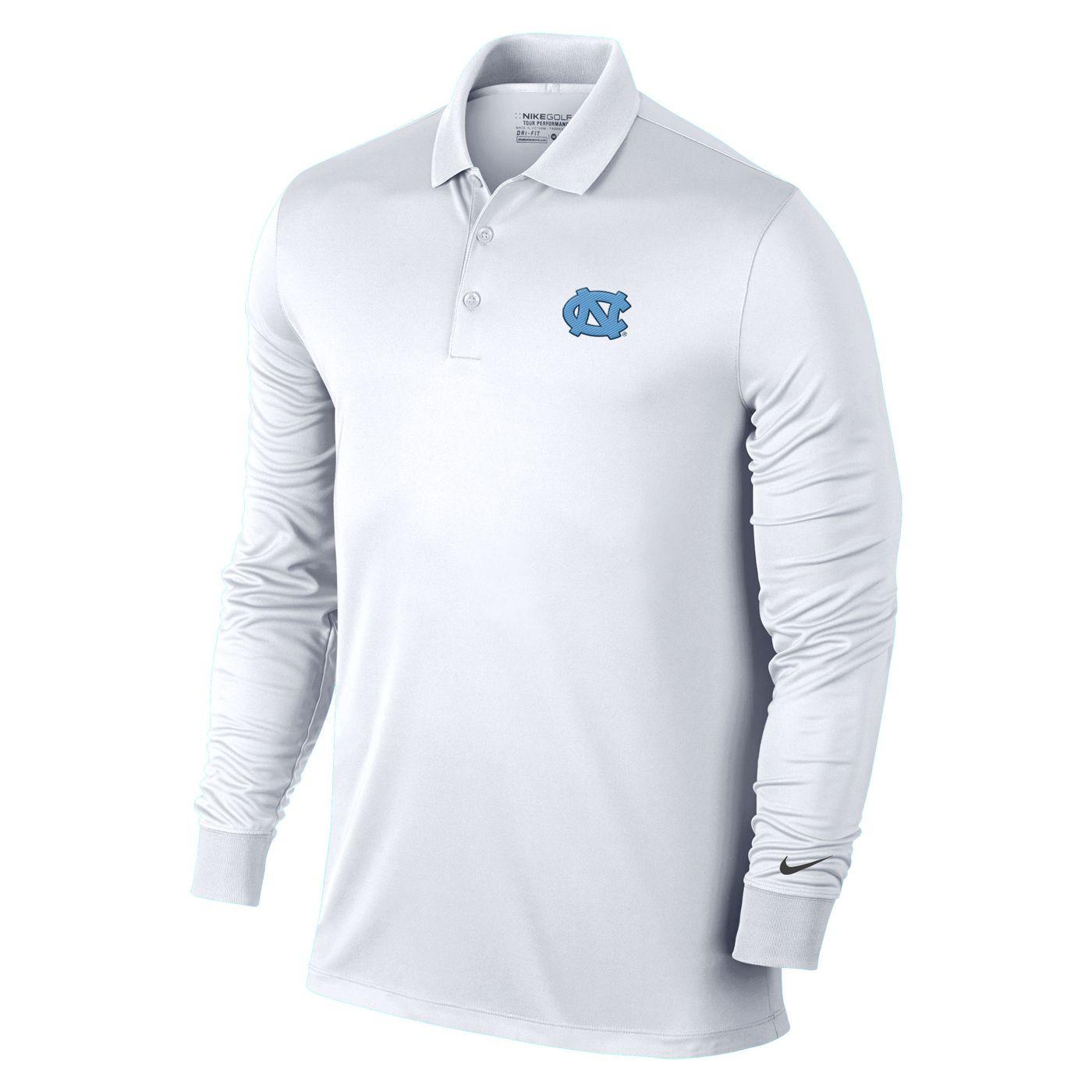 Johnny T Shirt North Carolina Tar Heels Nike Long Sleeve Victory