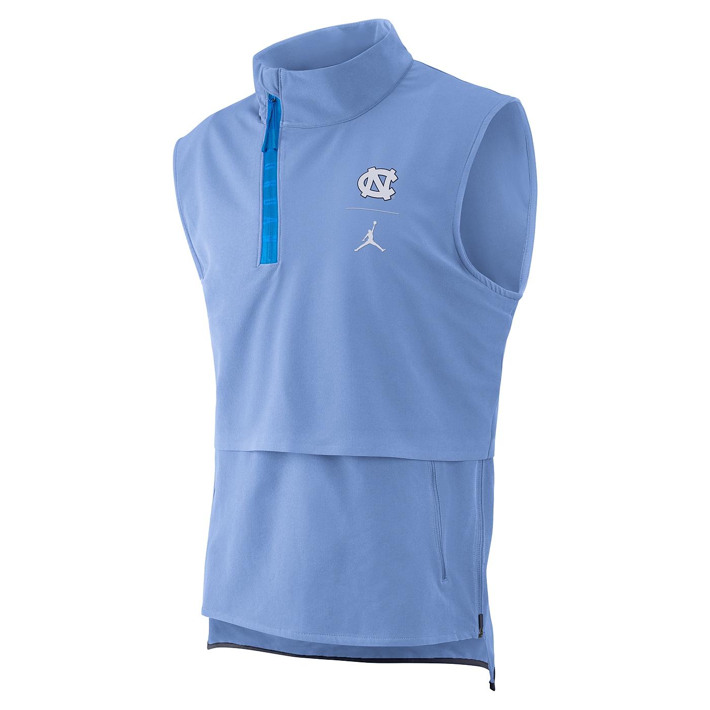 97fdeb4faa89 Johnny T-shirt - North Carolina Tar Heels - Nike Jumpman 1 4-Zip Jordan  Sleeveless Jacket (CB) by Nike
