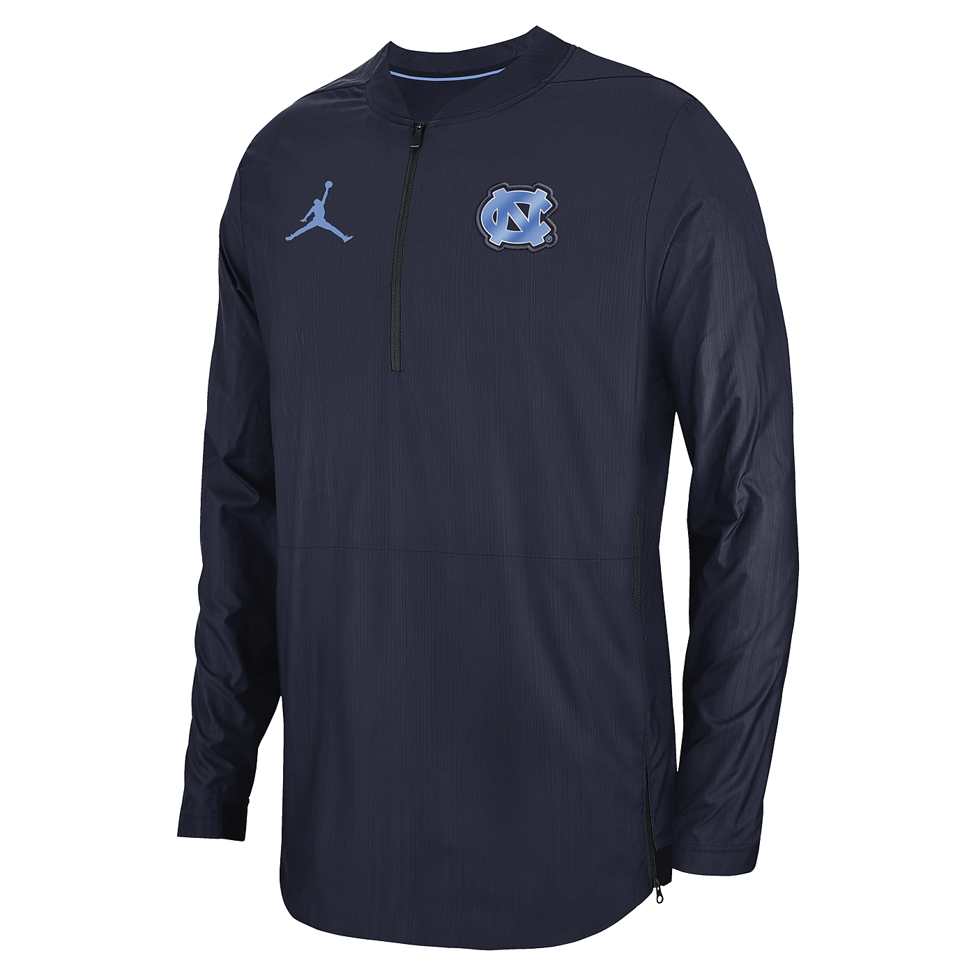 aa221cd7923a Johnny T-shirt - North Carolina Tar Heels - SALE ITEMS - Nike Jumpman  Lockdown 1 4-Zip Pullover Jacket (Navy) by Nike