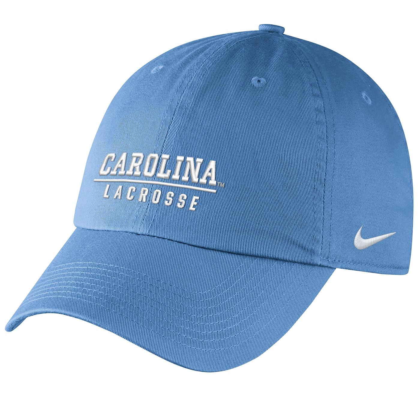 b13a233e930 Johnny T-shirt - North Carolina Tar Heels - Nike Lacrosse Wordmark Campus  Hat (CB) by Nike