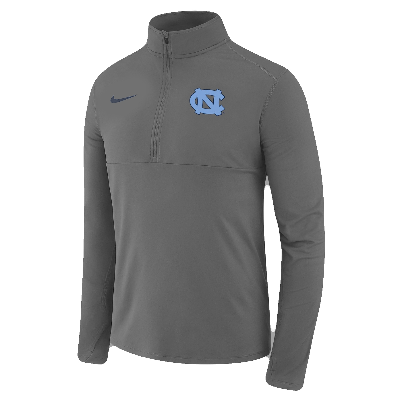 d0aec79f Johnny T-shirt - North Carolina Tar Heels - Nike Core 1/2-Zip Pullover  (Grey) by Nike