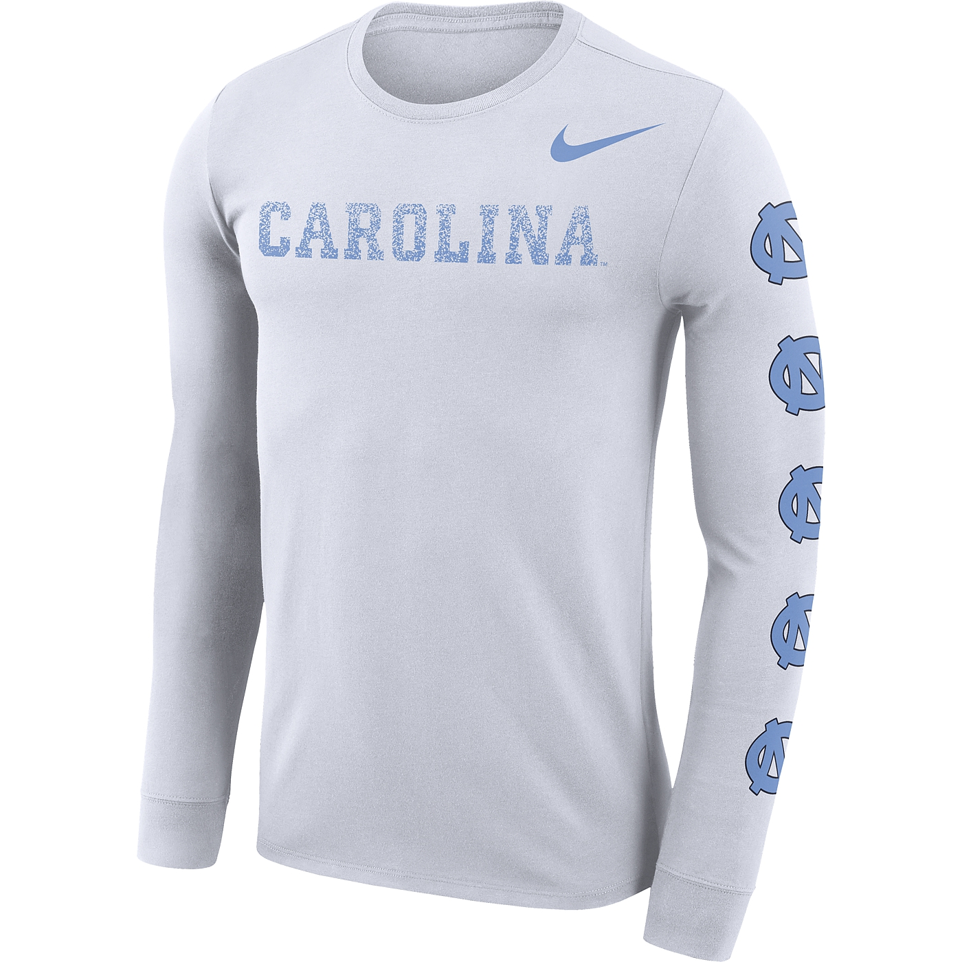 9eff3fbdab6275 Johnny T-shirt - North Carolina Tar Heels - Nike L S Repeating ...