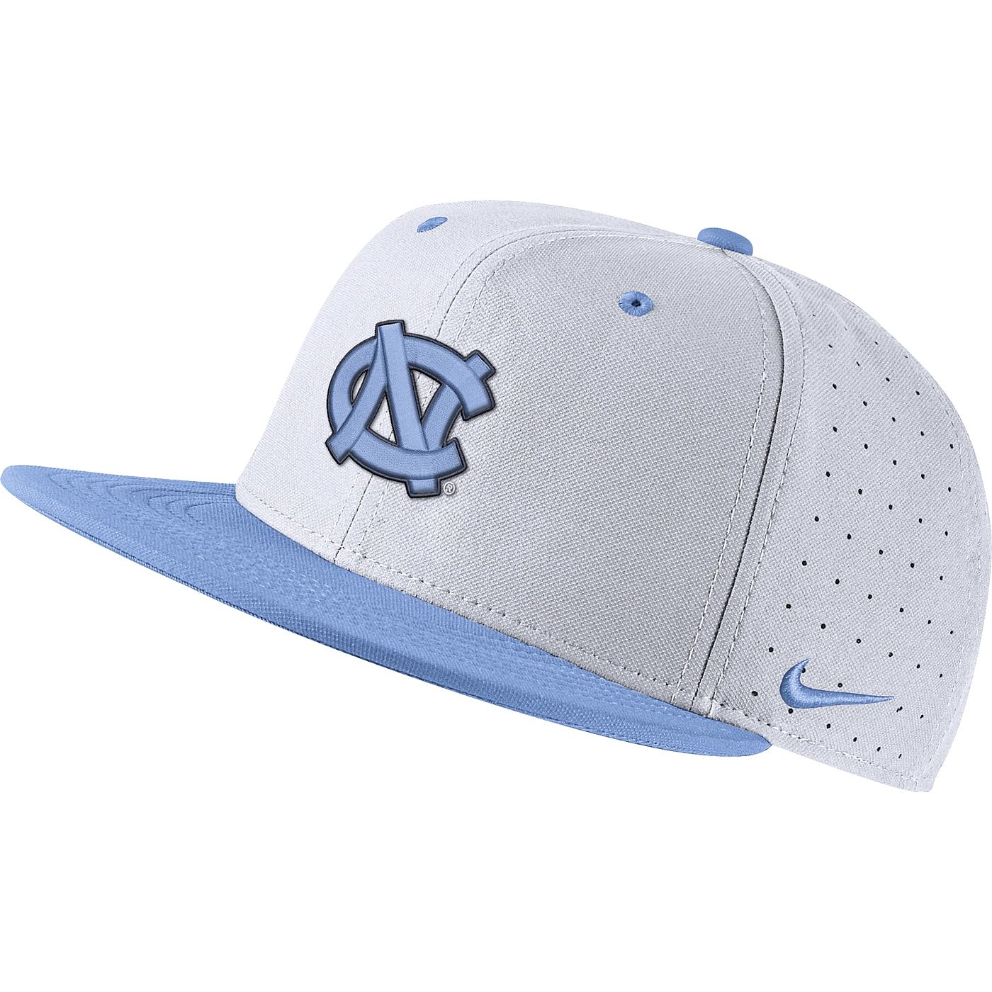 best service 61e7b 420ac Johnny T-shirt - North Carolina Tar Heels - Nike Aerobill True Baseball  Fitted Hat (White CB) by Nike
