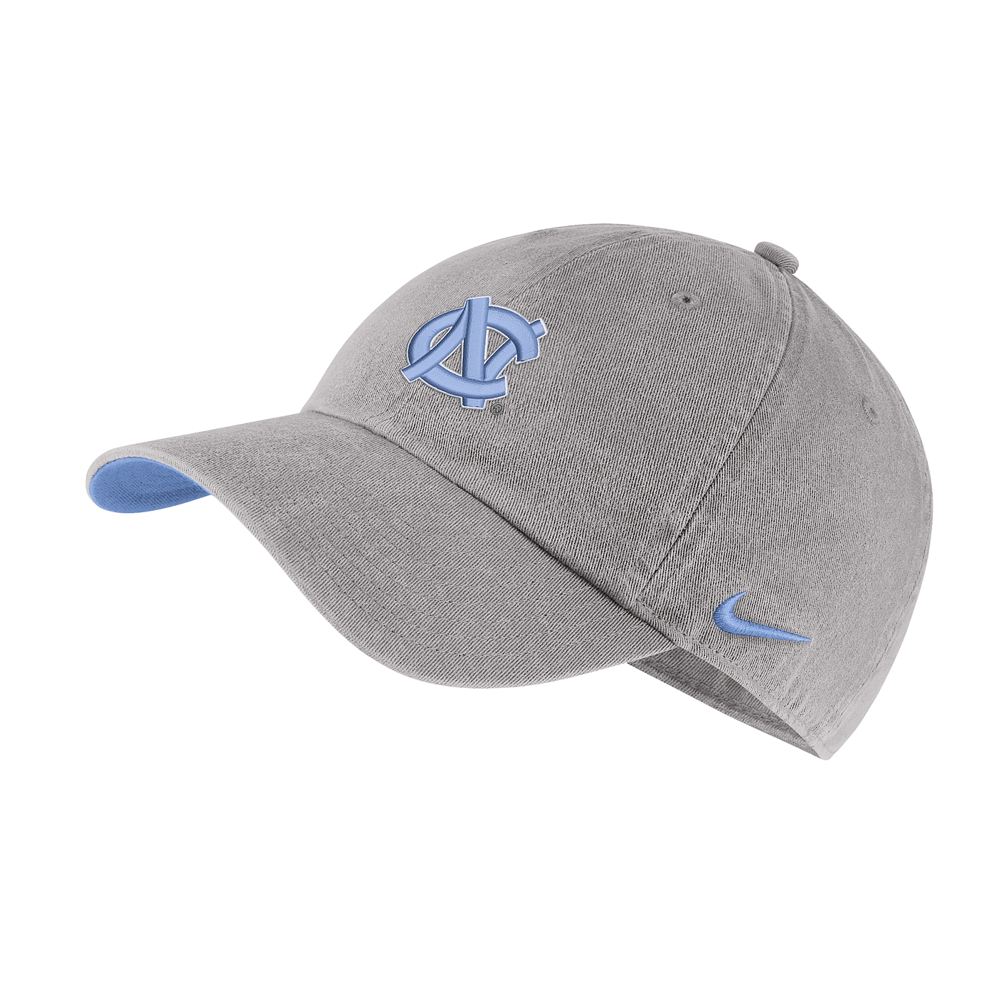 fcfc105ffcd Johnny T-shirt - North Carolina Tar Heels - Nike Washed Heritage86 Logo Hat  (Pewter Grey) by Nike