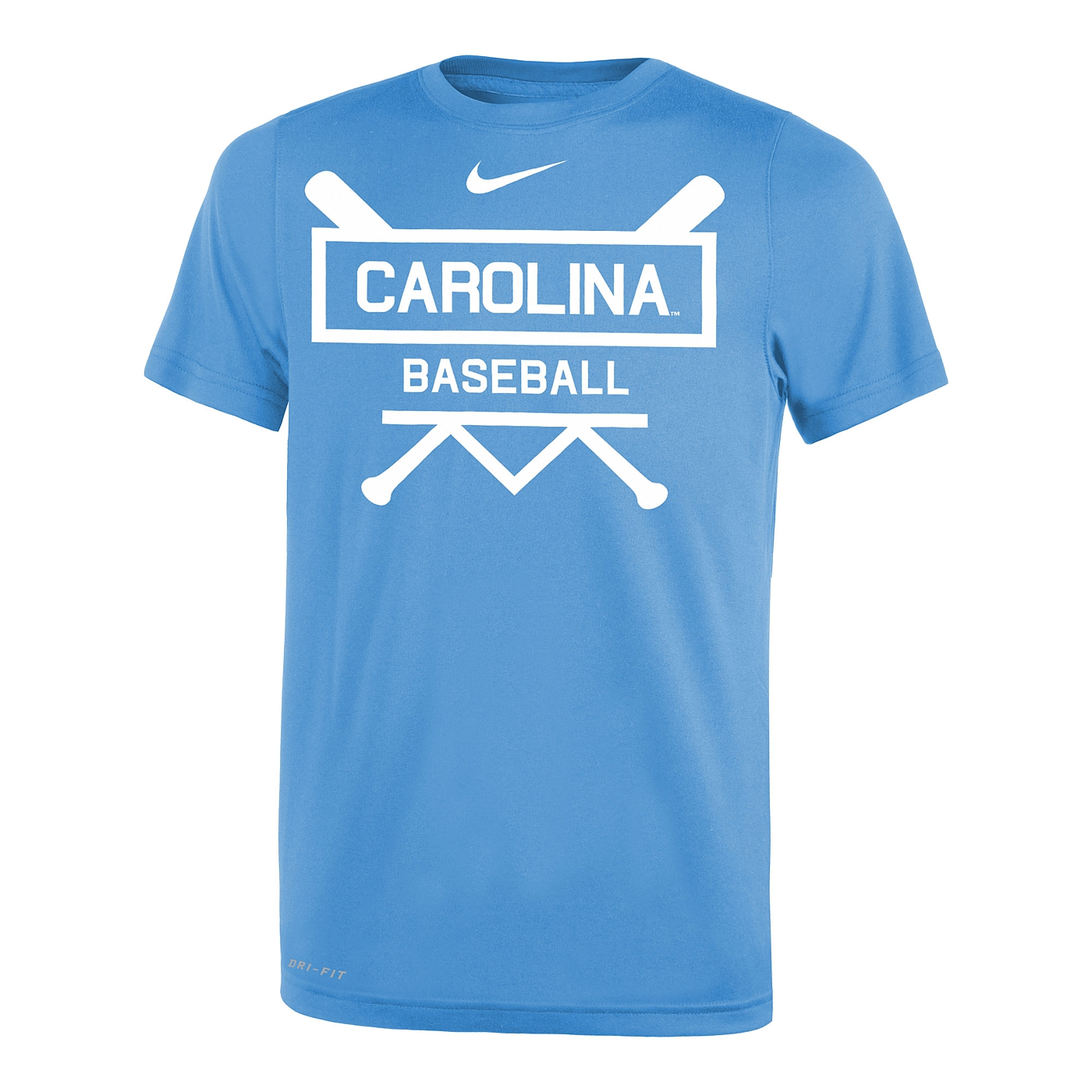 9240d845 Johnny T-shirt - North Carolina Tar Heels - Youth Baseball Name Plate  Legend T (CB) by Nike